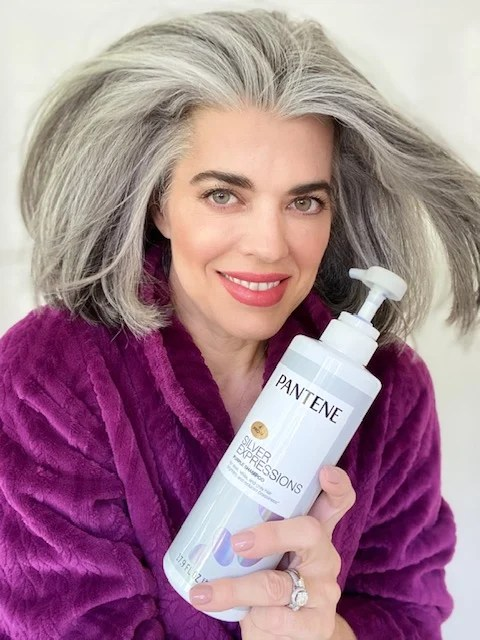 Shining Bright This Holiday Season with Pantene Silver Expressions