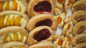Apple, Apricot, Cherry and Peach Puff Pastry