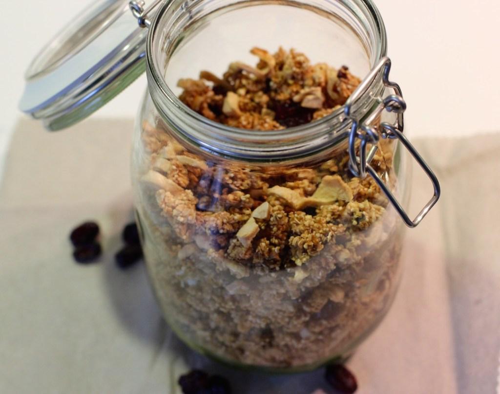 Homemade Granola Rezept