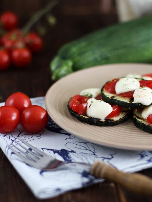 Gegrillte Zucchini