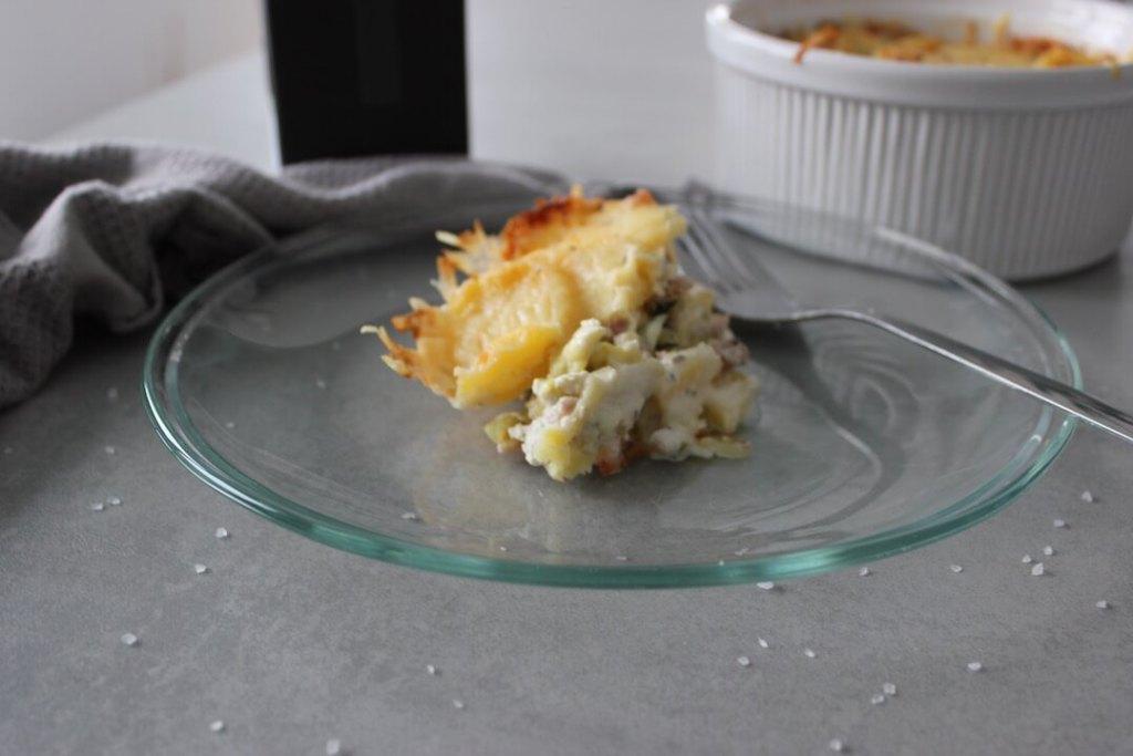 Kartoffelgratin mit Wirsing