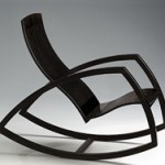 Discover a modern rocking chair