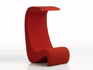 Amoebe highback lounge chair