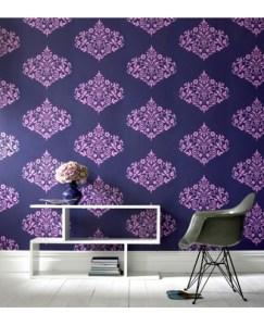 Modern and contemporary purple wallpaper