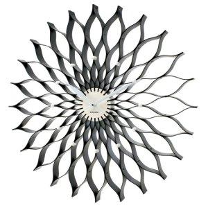 Black lotus clock