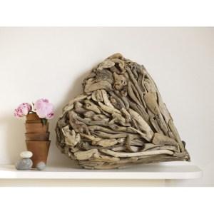 Karen Miller driftwood heart