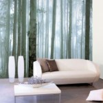 Bring nature into your home with forest wallpaper