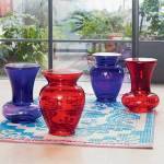 La Boheme vase and urn stools