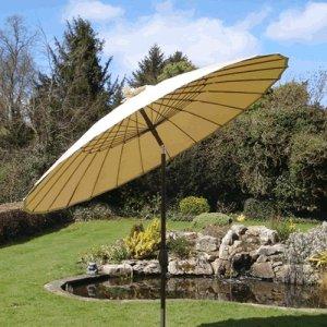 five of the best garden parasols fresh design blog. Black Bedroom Furniture Sets. Home Design Ideas