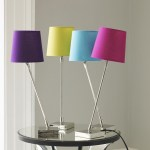 Graham and Green colourful slant lamps
