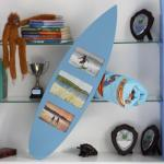 Unusual surf board frame