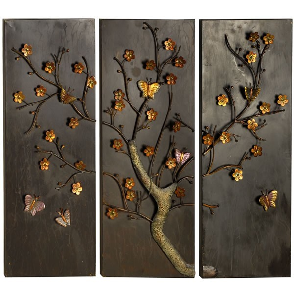 Outdoor Hanging Butterfly Decor