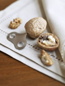 Turn the key - and open the walnut