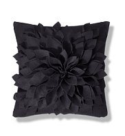 black-3d-flower-cushion