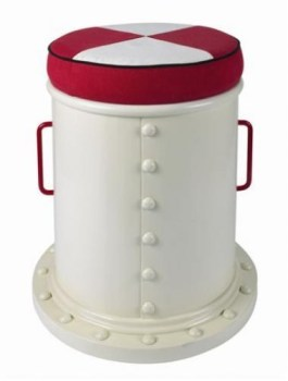 Boat funnel stool