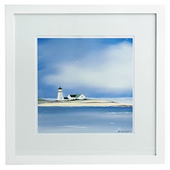 Lighthouse Island framed print