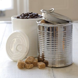 Tin can jar