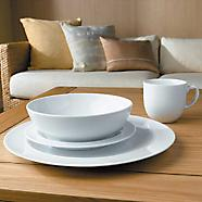 Half price Denby white 16 piece dinner set