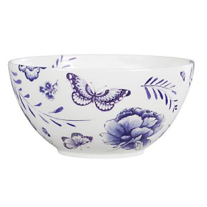 Wedgewood blue salad dish