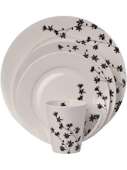 Linea Eternal Silhouette dinnerware