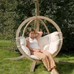 Amazonas globe wooden swing seat