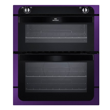 Love this purple double oven!