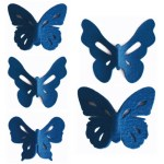 Felt Flutter wall stickers by Rachel Horrocks