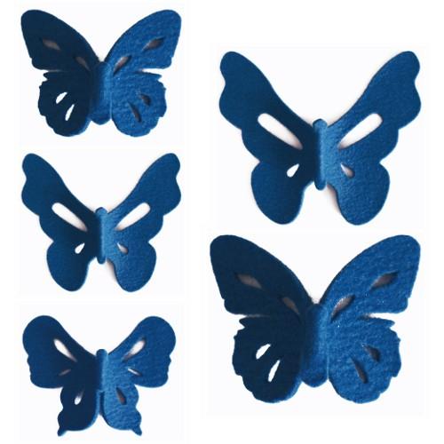 Felt Flutter wall stickers by Rachel Horrocks