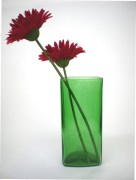 Upcycled glassware from Lars Persson