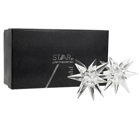 Julien Macdonald Star taper candle holders