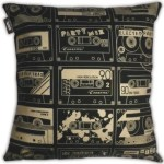 Mini Moderns C-60 cassette tape cushion