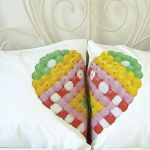 Two become one: cute union heart pillowcases