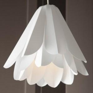 Inexpensive budget friendly flower pendant light