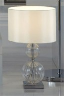 Small stacked base table lamp from Next