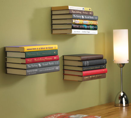 Umbra Conceal bookshelf from Red Candy