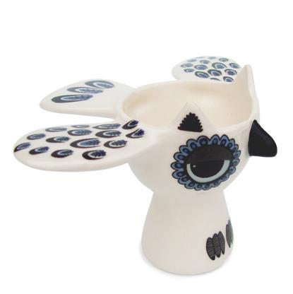 Owl egg cups by Hannah Turner