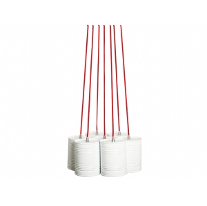Just Married bundle lamp from Dutch by Design