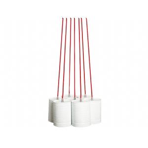 Contemporary hanging pendant lamp lighting