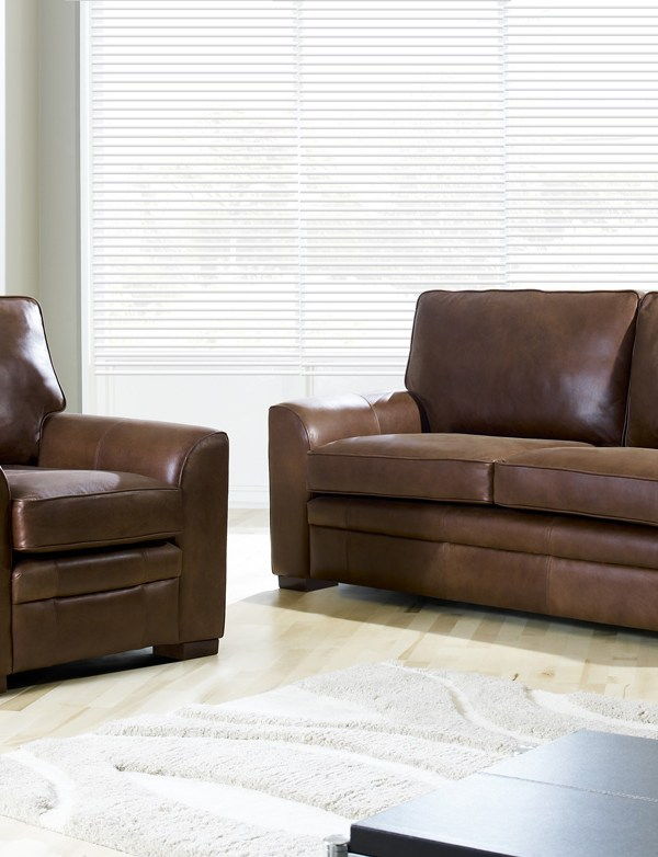 Quality Leather Sofas from Darlings of Chelsea