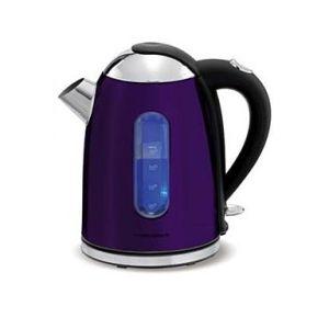 Trendy purple plum kitchen kettle