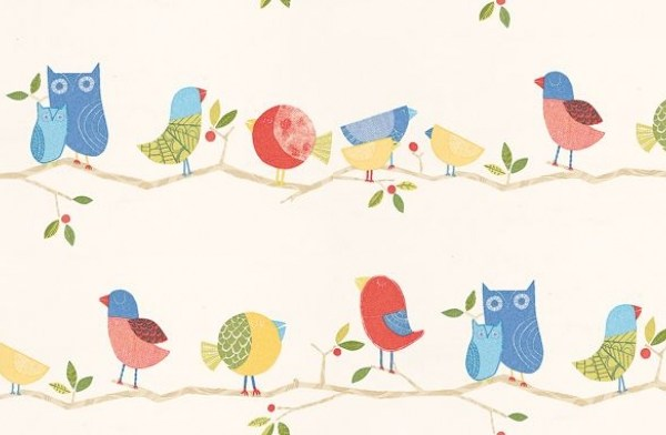 Harlequin What a Hoot wallpaper from Wallpaper Direct