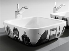 Roca designer contemporary bathroom sink