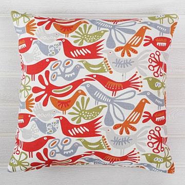 Bargain alert: Contemporary bird cushion