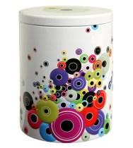 Bobbins spools home storage tin box jar