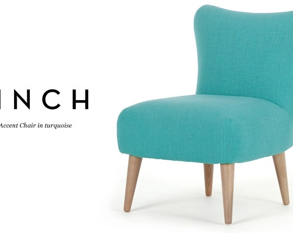 Finch Arte turquoise chair from Made