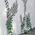 Metal comb-ination honeycomb trellis