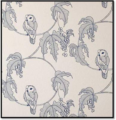 New Owlet wallpaper from Turner Pocock Cazalet