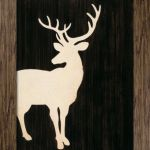 EasyArt Loves Stag Print competition winner