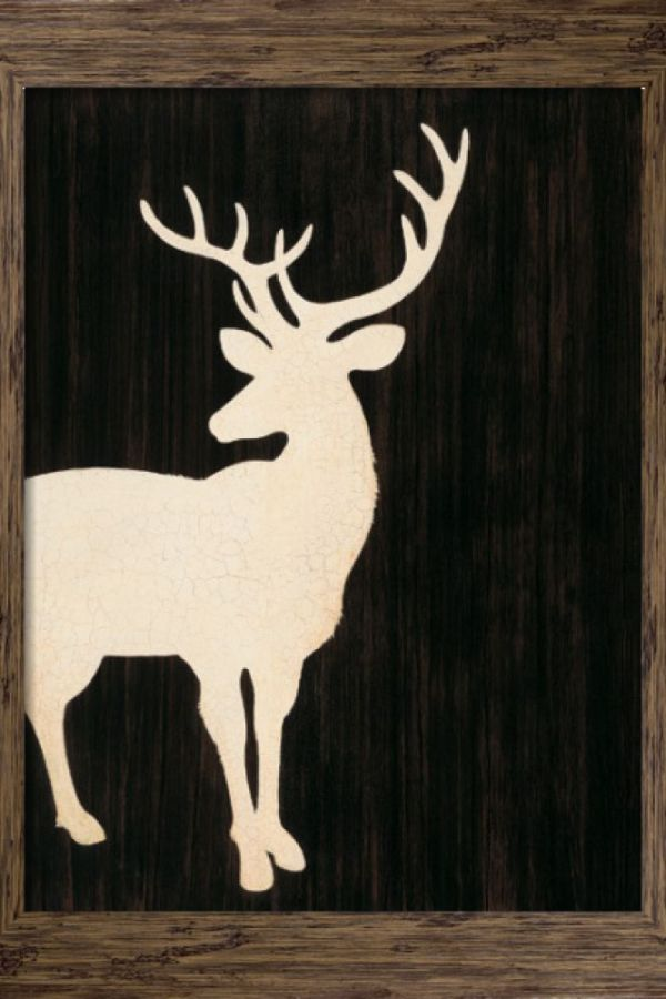 Competition: Win a Stag Silhouette framed art print!
