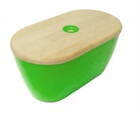 Woody bread bin and board